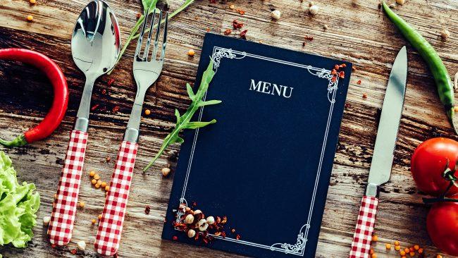 Beaivvi menu