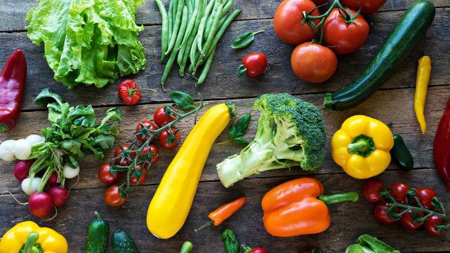 Grönsaker är supermat
