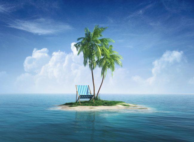 Miten pärjäisit autiolla saarella?