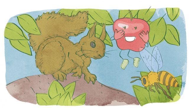 Olga Pomppu pelastaa omenasadon