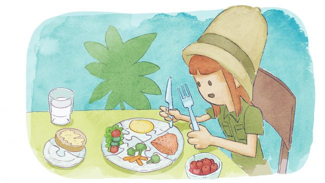 Ruut Ruokatutkailija ja ruokapalapeli